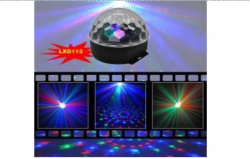 Световой LED прибор LanLing LXG113 RGB LED Crystal Disco Ball Light 3W